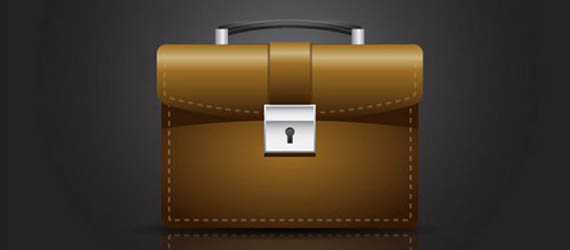 Create A Briefcase Icon Adobe Illustrator tutorial