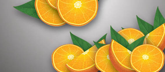 Realistic Orange Adobe Illustrator tutorial