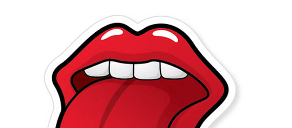 Create a Rolling Stones Inspired Tongue Illustration Adobe Illustrator tutorial