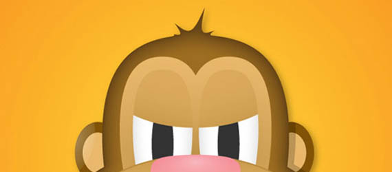 Create the face of a greedy monkey Adobe Illustrator tutorial