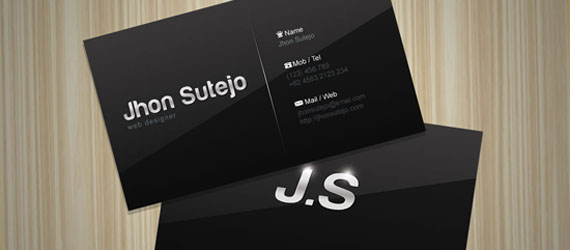 Free Business Card Design PSD Templates Freebie Business Card - Graphic design business card templates