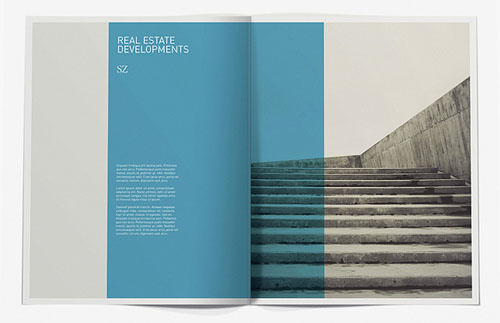 modern brochure design - 10 modern business brochure designs inspiration