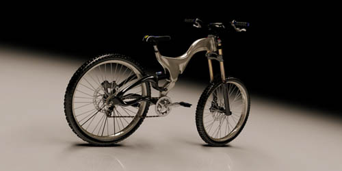 DH freeride bike-concept by Israel Antunez-1