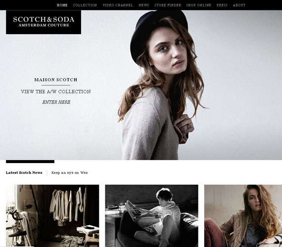 10 Faboulus Fashion Website Designs Inspiration Web