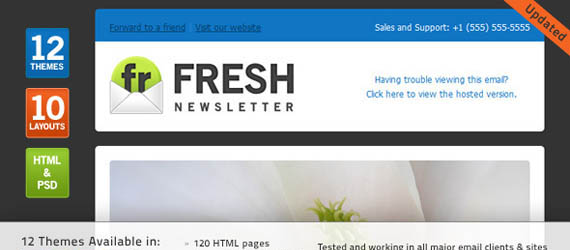 18 Best HTML Email Newsletter Templates For Business