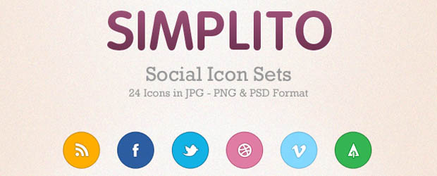 Collection Of Rounded Social Media Icons