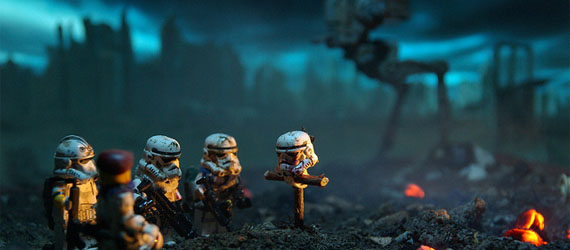 Toy Photography : 40 Entertaining Stormtrooper Photographs