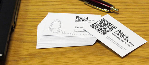 50 Cool QR Code Business Card Examples