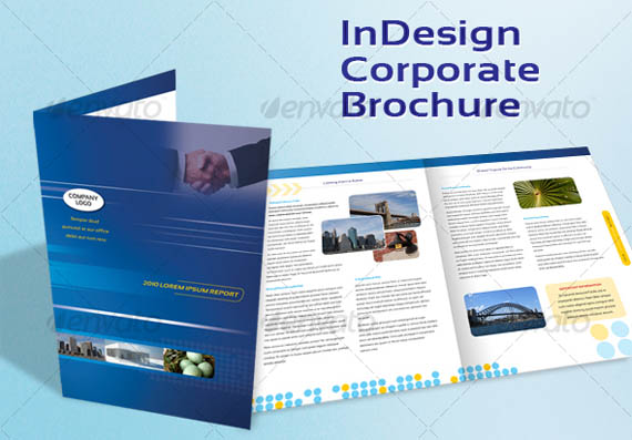 30 modern business brochure templates brochure idesignow for Free brochure indesign template