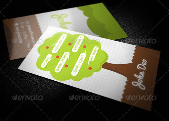Creative Tree Business Card_30