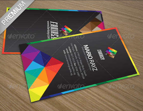 Fantasy Colors Corporate Business Card_14