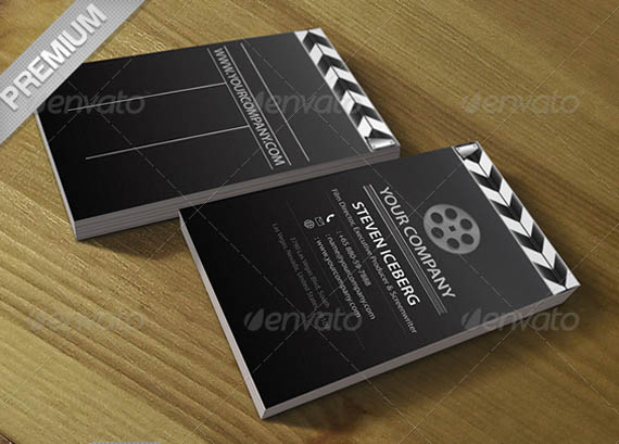 Film Director Creative Business Card _51