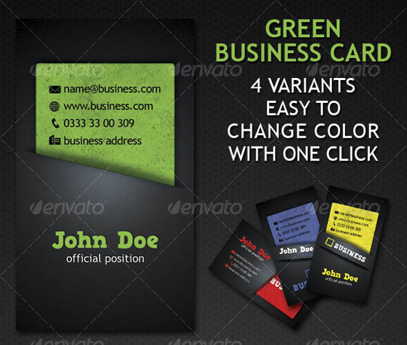 Green Business Card 4 Variation_19