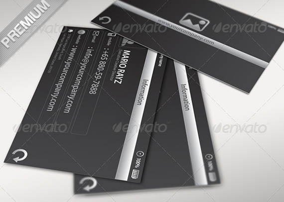 Minimalistic Profile Corporate Business Card_13