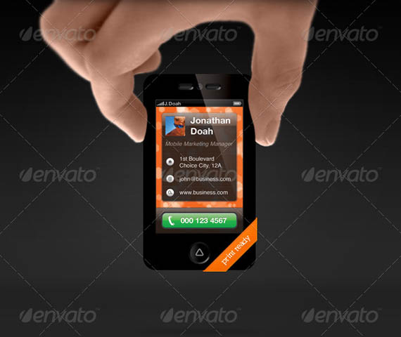 Smartphone Business Card_23
