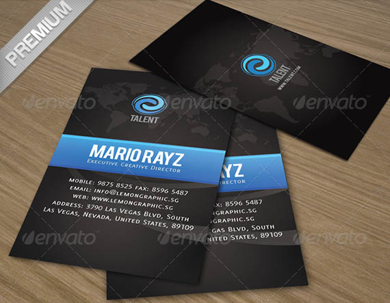 Talent Corporate Business Card_5