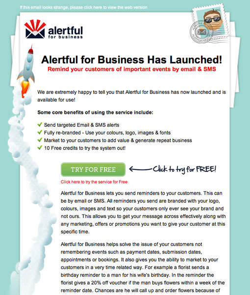 Great Email Newsletter Designs For Business  Inspiration