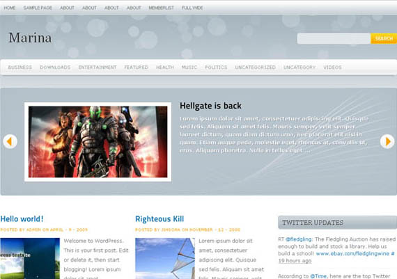 free premium wordpress theme