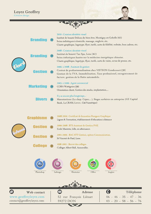 freelance resume design resume design 24