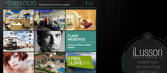 15 Great Flash Portfolio Websites