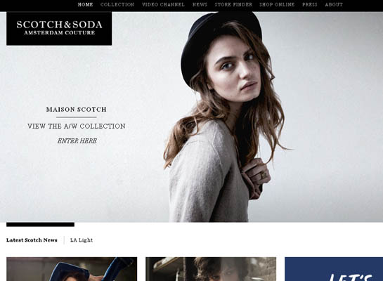 Elegant Jewelry & Fashion Website Designs | Inspiration | Web ...