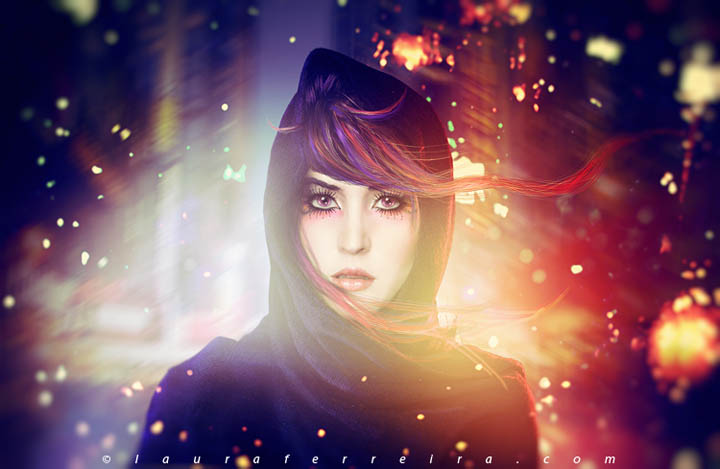 colorful photomanipulation
