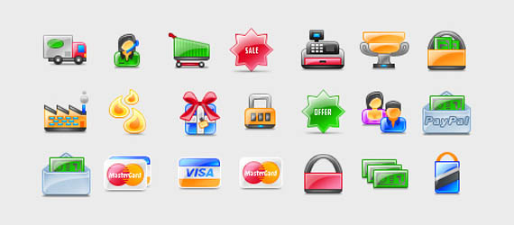 Free High Quality E-Commerce Icon Sets