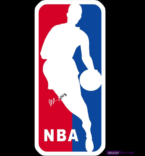nba logo design
