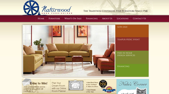 20 Awesome Furniture Website Designs Inspiration Web Design. Office furniture websites