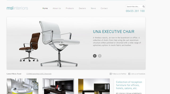 Furniture Website Design Simple 20 Awesome Furniture Website Designs  Inspiration  Web Design . Decorating Inspiration