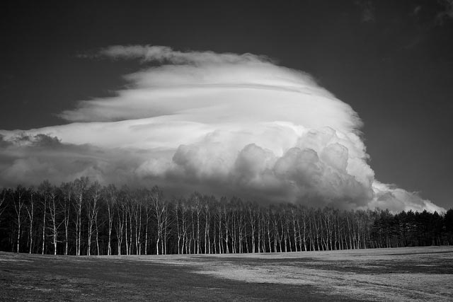 lenticular cloud photo