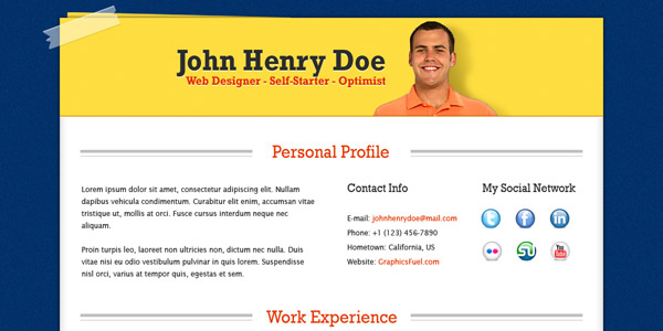 resume-template-psd-1