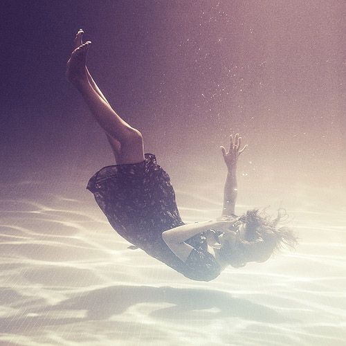underwater portrait photography