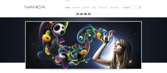25 Best One Page PSD & (X)HTML Templates