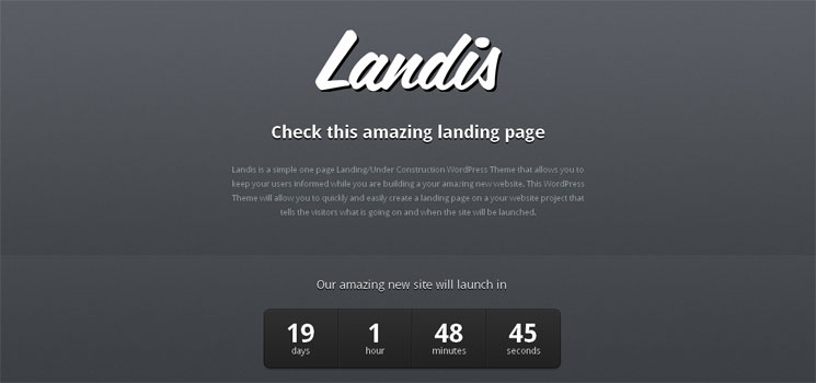 10 Free WordPress Coming Soon Themes