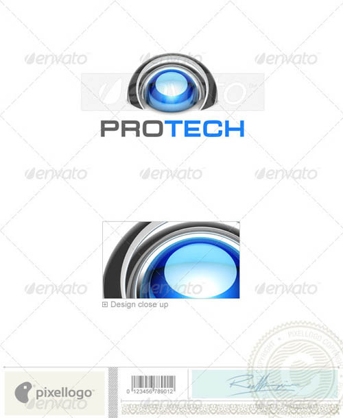 Technology Logo 3D-760_19
