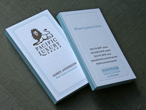 Pacific Luxury Letterpress Business Cards_40