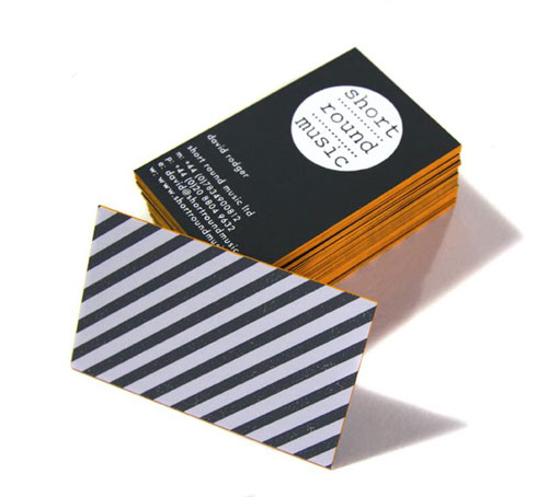 Edge Painting Business Card : 60 Beautiful Examples
