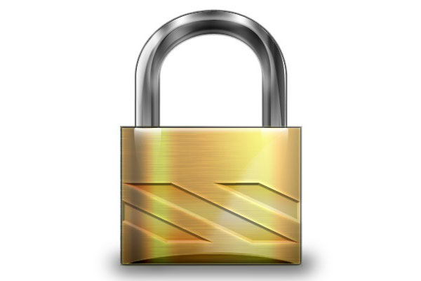 Photoshop Tutorial: padlock icon