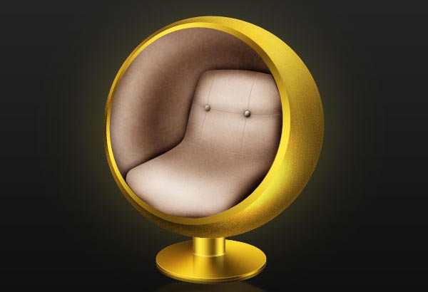 Create an Iconic Retro-Modern Ball Chair in Photoshop