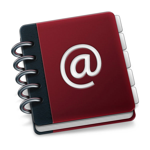 Create a Custom Mac OSX Style Ring Binder Address Book Icon
