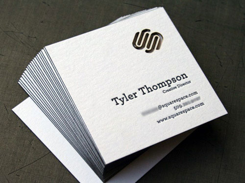 10 Cool Square Business Cards | Inspiration | Business Card ...