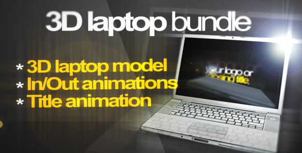 3D Laptop animation bundle_40