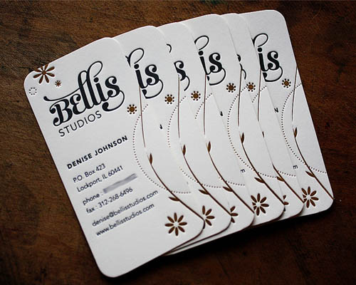 Bellis Studios Letterpress Business Cards_10