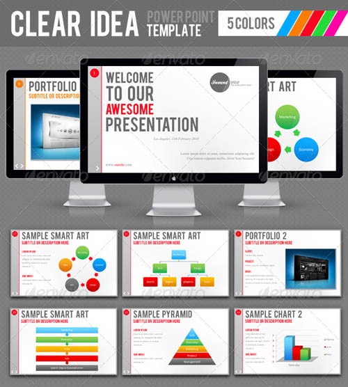 Clear Idea Template_5