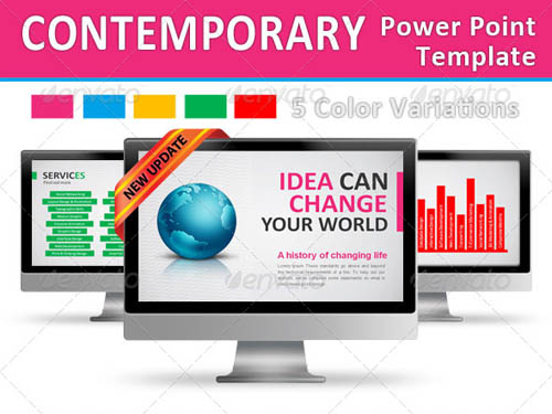 Contemporary Power Point Template_12