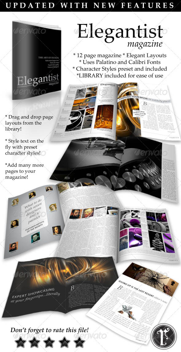 Elegant Art Magazine Template_22