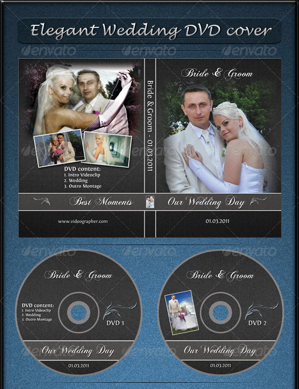 wedding dvd templates - Akba.greenw.co
