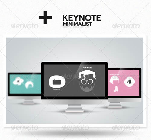 30 best powerpoint templates template idesignow for Minimalist powerpoint template free