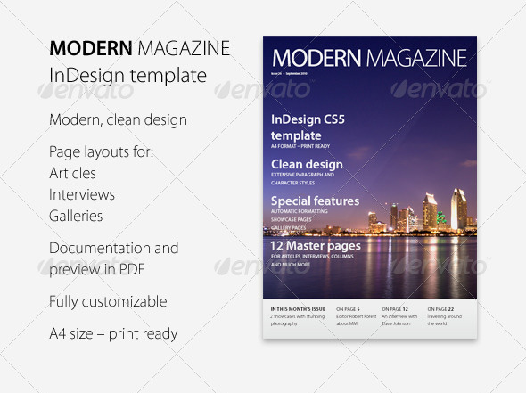 Modern Magazine InDesign template_19